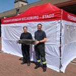 Förderverein unterstützt Jugendfeuerwehr</br>Neue Feldbetten und ein Pavillon