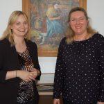22 Wohnungen sind schon vergeben</br>Marja-Liisa Völlers (MdB) informiert sich über Projekt Mehrgenerationenhaus