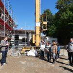 Baufest an der Immanuel-Schule</br>Dank des Glaubens klappt die Finanzierung