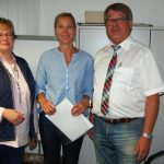 Dorit Schöning neue Gemeindedirektorin</br>Bushaltestellen in Glasbauweise
