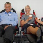 Blutspender sind Lebensretter</br>Erster DRK-Blutspendetermin im Klinikum Schaumburg