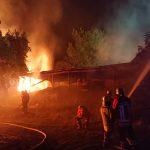 Brennendes Stroh war Brandstiftung