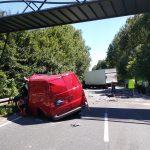 Tödlicher Verkehrsunfall auf B 83