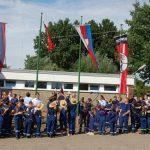 Ehrung für Arnd Driftmeier und Olaf Schramme</br>Feierliche Eröffnung des Zeltlagers der Jugendfeuerwehren