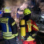 Zwei Brandeinsätze und eine Hilfeleistung
