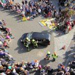 Spektakuläre Vorführungen der Feuerwehr</br>Aktionstag in der Innenstadt mit vielen interessierten Besuchern
