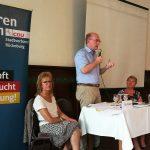 Integration von Flüchtlingen</br>Diskussion mit Landrat Farr und Heidemarie Hanauske (AWO)