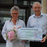 500 Euro für Sorgentelefon</br>Stadtwerke unterstützen Kinderschutzbund