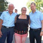 Stadtzeltlager der Jugendfeuerwehren zu Ende</br>Ehrenabzeichen für Jennifer Reese
