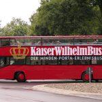 Kaiser Wilhelm Bus auf letzter Fahrt