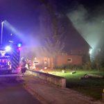 Kellerbrand – Übung der Feuerwehren