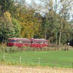 Saisonabschluss für historischen Schienenbus