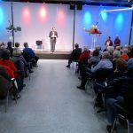 René Sydow – ein Mann und ein Stuhl</br>Zwei Stunden beste Unterhaltung im Hubschraubermuseum