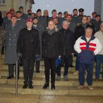 Verständigung über den Gräbern</br>Gemeinsame Straßensammlung von Bürgerbataillon und Bundeswehr