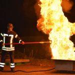 Feuer und Flamme am Ausbildungsabend