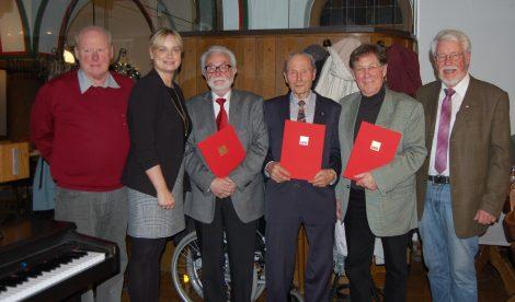 SPD ehrt langjährige Genossen</br>Vorstand begrüßt zwei neue Mitglieder