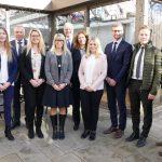 Fortbildung auf hohem Niveau</br>Volksbank-Mitarbeiter für ihre Leistungen geehrt