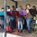 Bigband-Sound, Feuershow und Heißer Engel</br>25. Weihnachtsmarkt in der Grünen Mitte