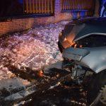 Fahranfänger hat Verkehrsunfall