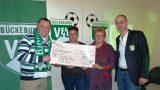 VfL-Fußballer spenden für Tschernobyl-Hilfe