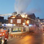 Polizei ermittelt Brandursache