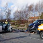 Unfall mit eingeklemmter Person