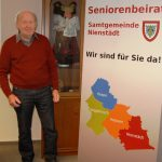 """Rollup Banner für den Seniorenbeirat</br>""""Schüler schulen Senioren"""""""