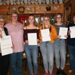Jahreshauptversammlung und Knobelabend</br>Volkstanz- und Trachtengruppe ehrt langjährige Mitglieder