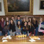 """""""Können kein spanisches Wetter bieten""""</br>Ratsempfang für Schülergruppe aus Nähe von Barcelona"""