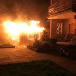 Feuerwehr verhindert Großbrand