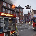 Mann stirbt bei Wohnungsbrand</br>Zwei Großbrände in der Altstadt