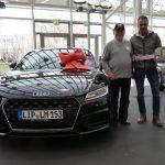 Volksbank-Kunde gewinnt Audi TT Coupé
