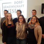Yanneck Mumme weiter Vorsitzender</br>Dorfgemeinschaft verjüngt Vorstand