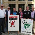 VfL unterstützt Blutspendetermin