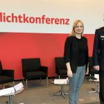 Blaulichtkonferenz im Bundestag</br>Marja-Liisa Völlers trifft Klaus-Peter Grote