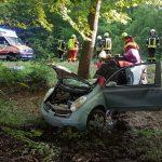 Schwerer Verkehrsunfall im Schaumburger Wald