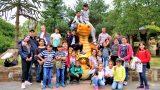 Urzeitwesen zum Anfassen nah</br>Flüchtlingskinder erobern den Dino-Park