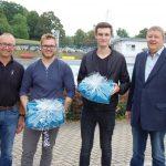 Präsente für Tim Lürding und Dejan Dralle</br>Erfolgreicher Abschluss einer anspruchsvollen Ausbildung