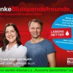 Blutspende und Typisierung