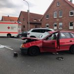 Verkehrsunfall glimpflich ausgegangen
