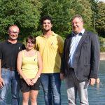 Zwei Neue in einem gut funktionierenden Team</br>Bäder-GmbH begrüßt zwei neue Auszubildende