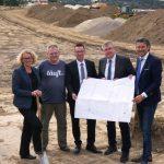"""Erschließungsstart Baugebiet """"Teichbreite""""</br>30 Grundstücke in attraktiver Lage mit direkter Anbindung an A2"""