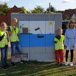 Motiv der Kinderfeuerwehr ziert jetzt Stromkasten