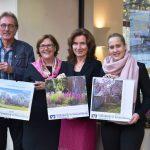 """""""Schaumburg blüht""""</br>Neuer Bildkalender 2020 der Volksbank in Schaumburg"""