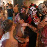 Blut, Zombies und Sensenfrauen</br>Toller Halloween- Gruselspaß im Dr.-Faust-Hallenbad