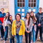 150 Schüler fit für das Berufsleben</br>Zusammenarbeit Volksbank und Hildburgschule