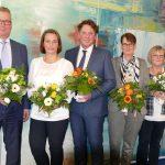 Mitarbeiter-Jubiläum</br>Volksbank dankt für berufliches Engagement