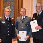 196 Einsätze für ehrenamtliche Brandschützer</br>Ehrenmedaille am Bande für Jürgen Pöhler und Ralf Kater