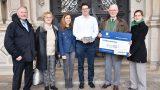 Auszeichnung für die Familie Blindow</br>Bronzetafel und 100.000 Euro von der Deutschen Stiftung Denkmalschutz