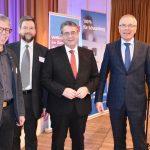 """""""Europäer müssen zusammenhalten""""</br>Neujahrsempfang der Volksbank mit Gastredner Sigmar Gabriel"""